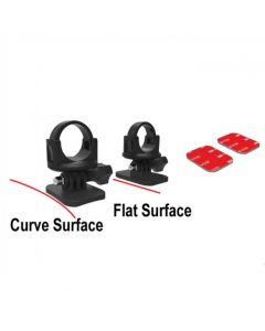 360-degree Curve/Flat Mount